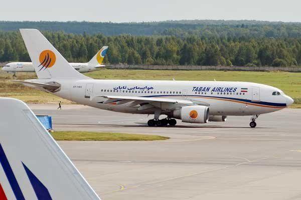 هواپیمایی تابان اخطار گرفت + جزئیات