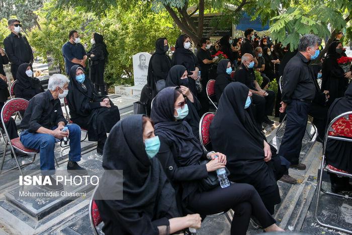 مراسم یادبود مهشاد کریمی، خبرنگار ایسنا + تصاویر