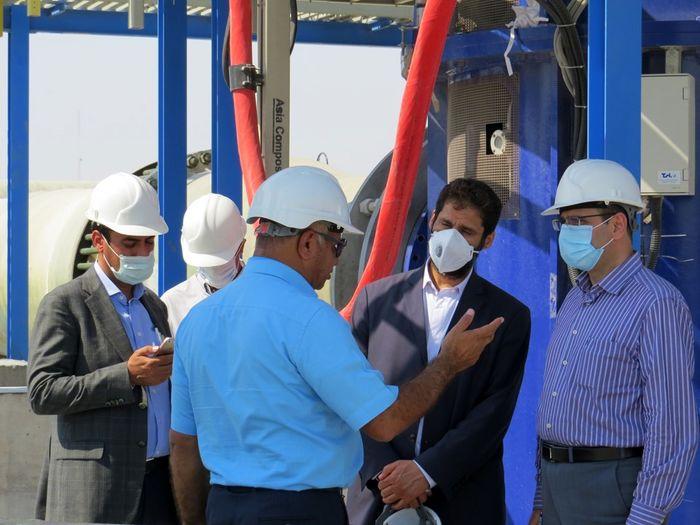نقش شرکت مس در طرح انتقال آب خلیجفارس