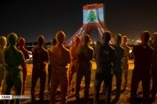 گرامیداشت یاد جانباختگان انفجار بیروت در تهران+تصاویر