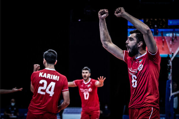 بهترین بازیکن بازی ایران و فرانسه