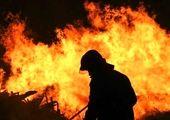 آتشسوزی گسترده در قدس اشغالی +فیلم