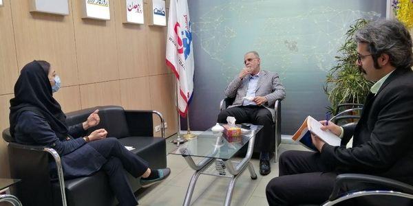 بازدید رئیس سابق ایمیدرو از موسسه صمت و گسترش نیوز