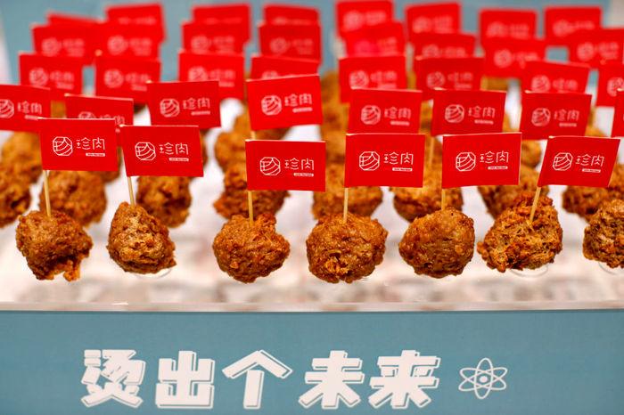 تصاویر / گوشت ساخت چین از سبزی