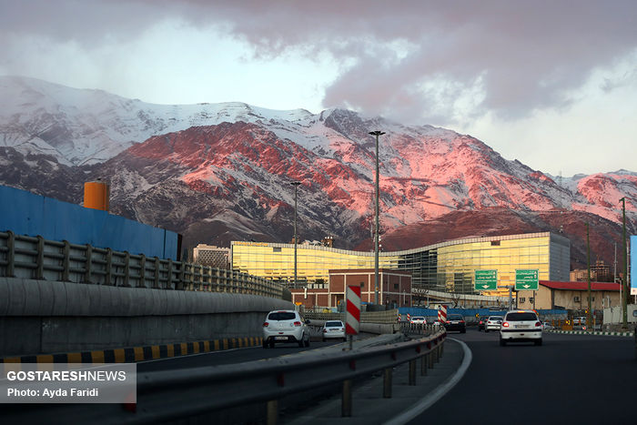 تصاویر/ آسمان آخر هفته پایتخت